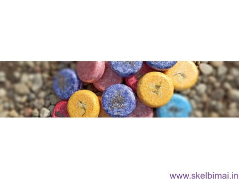 Naturalus sampunai be drusku, sulfatu ir silikonu