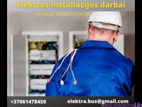 Patikimas elektrikas Vilniuje, Kaune bei aplinkiniuose rajonuose