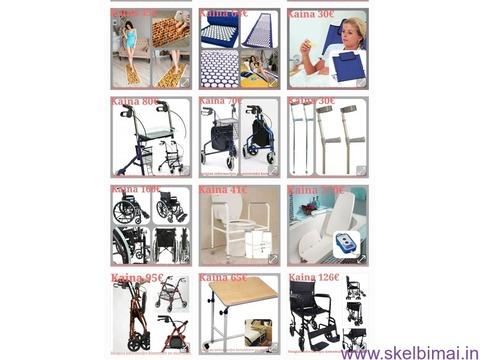 Ieškote prekių slaugai/neįgaliesiems?mediplius. lt