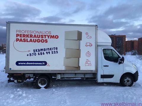 Kroviniai, siuntos Klaipėda-Kaunas-Vilnius ir atgal!