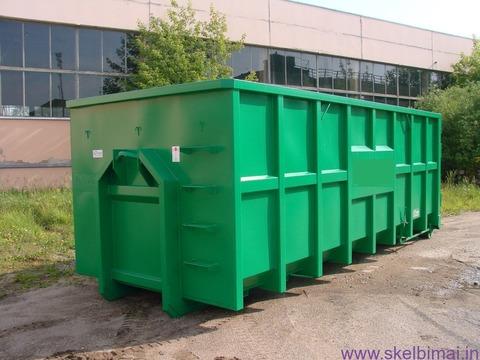 Užtraukiami metaliniai konteineriai . Gamyba.