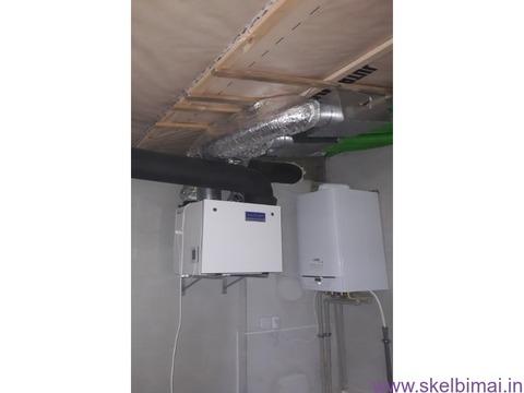 Namų ir patalpų vėdinimo sistemos