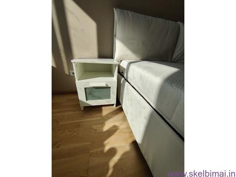 Itališka lova 200x165, Ciužinys FEY&CO, 2 Spintelės