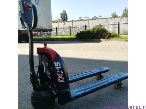 Elektrinis palečių vežimėlis