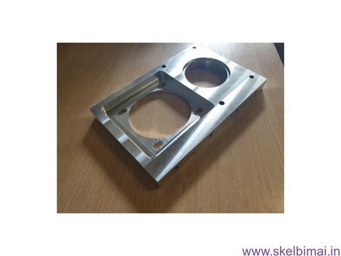 CNC metalo frezavimas