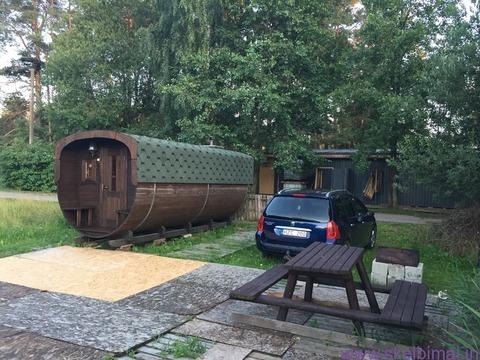 Pirtis prie Salotės ežero Vilniuje
