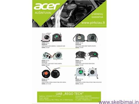 ACER nešiojamų kompiuterių aušintuvai