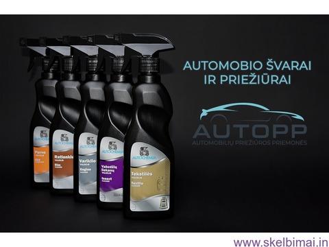 Automobilių alyvos, antifrizas, langų skysčiai ir kitos peiwžiūros priemonės AutoPP.lt